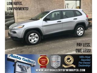 Used 2018 Jeep Cherokee Sport for sale in Winnipeg, MB