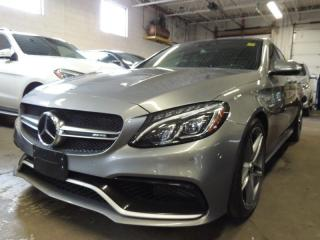 Used 2015 Mercedes-Benz C-Class AMG C 63 S, HUD, NAVI, BACK UP CAMERA for sale in Mississauga, ON