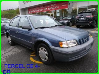 Used 1998 Toyota Tercel CE 4-DR for sale in Longueuil, QC