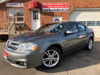 Used 2013 Dodge Avenger SXT 4 Cyl Auto Pwr Seat Heated Seats for sale in Bowmanville, ON