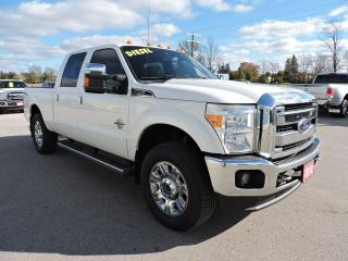 Used 2012 Ford F-250 LARIAT. Diesel. Leather. Sunroof. New tires for sale in Gorrie, ON