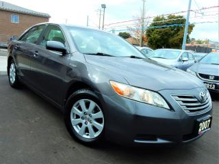 Used 2007 Toyota Camry HYBRID | BLUETOOTH | LOADED | ALL POWER OPTIONS for sale in Kitchener, ON