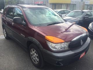 Used 2003 Buick Rendezvous CX/ AUTO/ POWER GROUP/ ALLOYS/ RUNS A-1! for sale in Scarborough, ON