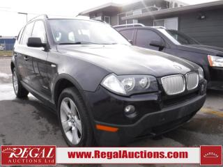 Used 2009 BMW X3 XDRIVE30I 4D Utility for sale in Calgary, AB