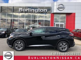 Used 2015 Nissan Murano SL, ACCIDENT FREE, EXTENDED WARRANTY ! for sale in Burlington, ON