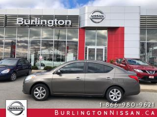 Used 2012 Nissan Versa 1.6 SL for sale in Burlington, ON