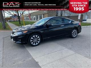 Used 2015 Honda Accord Coupe EX-L  NAVIGATION/REAR CAMERA for sale in North York, ON