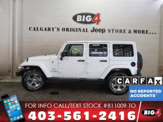 Used 2018 Jeep Wrangler JK Unlimited Sahara for sale in Calgary, AB