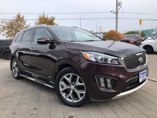 Used 2016 Kia Sorento 3.3L SX**ALL Wheel Drive**Navigation** for sale in Mississauga, ON