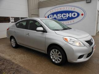 Used 2012 Nissan Versa 1.6 SV (CVT)|Alloy Wheels|Bluetooth for sale in Kitchener, ON