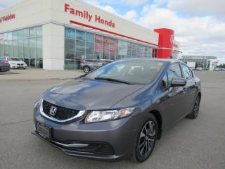 Used 2015 Honda Civic EX for sale in Brampton, ON