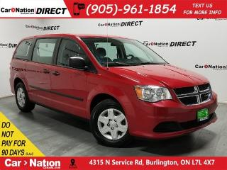 Used 2013 Dodge Grand Caravan CVP| LOCAL TRADE| DUAL CLIMATE CONTROL| for sale in Burlington, ON