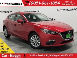 Used 2016 Mazda MAZDA3 Sport GS| SUNROOF| BACK UP CAMERA| PUSH START| for sale in Burlington, ON