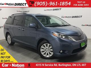 Used 2015 Toyota Sienna XLE| AWD| LEATHER| SUNROOF| NAVI| for sale in Burlington, ON