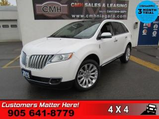 Used 2015 Lincoln MKX AWD NAV CS PANO-ROOF P/GATE CAM P/SEATS MEMORY for sale in St. Catharines, ON