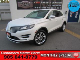 Used 2015 Lincoln MKC Select  AWD NAV HS CAM P/SEATS MEMORY for sale in St. Catharines, ON
