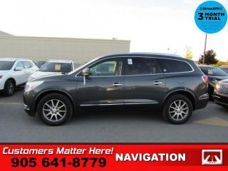 Used 2014 Buick Enclave Leather  BLIND SPOT BOSE P/GATE CAM 7-PASS 2X-/SEAT TOW 19 -AL for sale in St. Catharines, ON