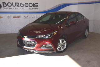 Used 2016 Chevrolet Cruze LT *** CAMERA, SIEGES CHAUFFANTS, DEM. A DISTANCE* for sale in Rawdon, QC