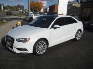 Used 2015 Audi A3 2.0T A3 2.0T Komfort, Leather, Sunroof quattro for sale in North York, ON