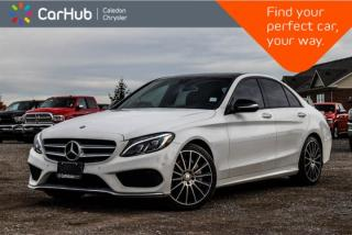 Used 2015 Mercedes-Benz C-Class C 400|4Matic|Navi|Pano Sunroof|Backup Cam|Bluetooth|Heated Front Seats|18