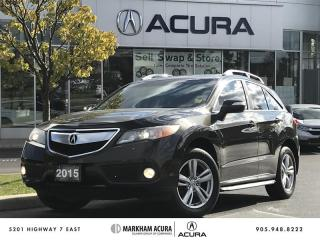 Used 2015 Acura RDX at - COMING SOON for sale in Markham, ON