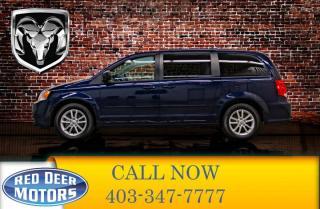 Used 2016 Dodge Grand Caravan SXT Plus DVD BCam for sale in Red Deer, AB