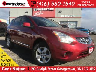 Used 2012 Nissan Rogue S | AUX IN | BLUETOOTH | 2.5L | for sale in Georgetown, ON