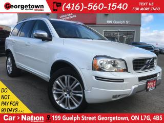 Used 2014 Volvo XC90 3.2 PREMIUM PLUS | AWD | 7 PASS | ROOF | BLIS for sale in Georgetown, ON