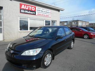 Used 2005 Honda Civic SE for sale in St-Hubert, QC