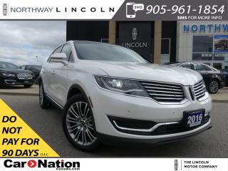 Used 2016 Lincoln MKX NAV|LEATHER|PANO ROOF|REMOTE START|360 REAR CAM| for sale in Brantford, ON