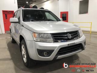 Used 2013 Suzuki Grand Vitara Jx- 4x4- Navi for sale in Drummondville, QC