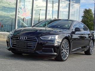 Used 2018 Audi A5 Premium Plus Sportback quattro for sale in Scarborough, ON