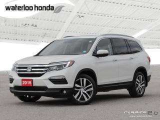 Used 2016 Honda Pilot Touring Sold Pending Customer Pick Up...Bluetooth, Back Up Camera, Navigation, and More! for sale in Waterloo, ON