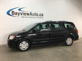 Used 2016 Dodge Grand Caravan SE/SXT - KEYLESS ENTRY! ROOF RACK! ECO MODE! A/C! PWR GROUP! CRUISE! for sale in Belleville, ON
