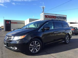Used 2015 Honda Odyssey TOURING - 8 PASS - DVD - NAVI - LEATHER - SUNROOF for sale in Oakville, ON