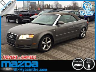 Used 2007 Audi A4 CABRIOLET 3,2L quattro for sale in St-Hyacinthe, QC