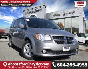 Used 2017 Dodge Grand Caravan Crew *LOCALLY DRIVEN* for sale in Abbotsford, BC