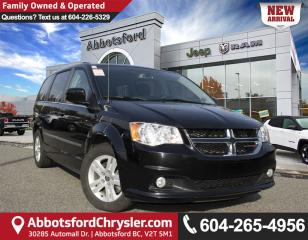 Used 2017 Dodge Grand Caravan Crew *ACCIDENT FREE* for sale in Abbotsford, BC