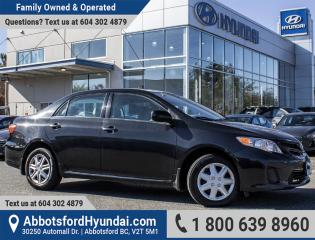 Used 2012 Toyota Corolla CE BC OWNED & ACCIDENT FREE for sale in Abbotsford, BC