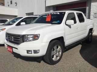 Used 2014 Honda Ridgeline Touring Sold Pending Customer Pick Up...Bluetooth, Back Up Camera, Navigation, and More! for sale in Waterloo, ON