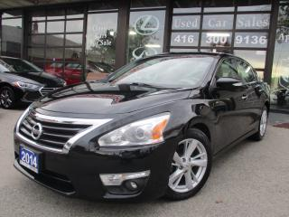 Used 2014 Nissan Altima 2.5 SL-NAVIGATION-CAMERA-LEATHER-ROOF-LOADED for sale in Scarborough, ON