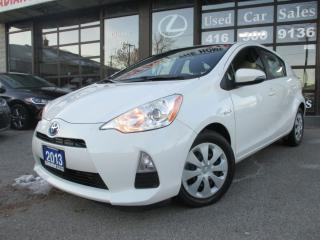 Used 2013 Toyota Prius c HYBRID-BLUETOOTH CONNECTIVITY for sale in Scarborough, ON