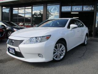 Used 2014 Lexus ES 350 ULTRA-PRM-PKG-NAVIGATION-CAMERA-LOADED for sale in Scarborough, ON