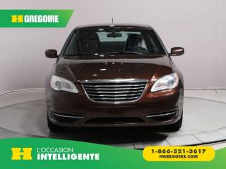 Used 2012 Chrysler 200 LX A/C GR ELECT for sale in St-Léonard, QC