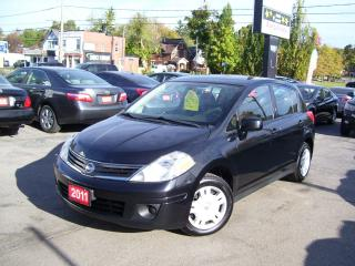 Used 2011 Nissan Versa 1.8 S,AUTO,POWER GROUP,KEY LESS for sale in Kitchener, ON