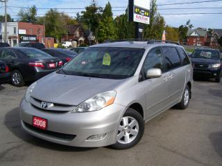 Used 2008 Toyota Sienna LE/LEATHER,DVD,ALLOYS,FOG LIGHT'S,POWER SLIDERS for sale in Kitchener, ON