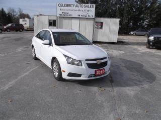 Used 2011 Chevrolet Cruze LT for sale in Elmvale, ON