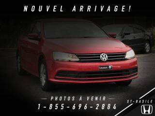 Used 2015 Volkswagen Jetta TRENDLINE + BLUETOOTH + CRUISE + A/C + G for sale in St-Basile-le-Grand, QC