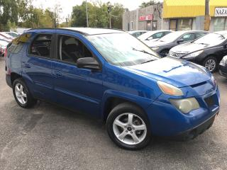 Used 2003 Pontiac Aztek AUTO/ POWER GROUP/ ALLOYS/ RUNS VERY WELL! for sale in Scarborough, ON