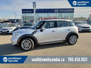 Used 2016 MINI Cooper Countryman S/AWD/PANO ROOF/LEATHER/BLUETOOTH for sale in Edmonton, AB